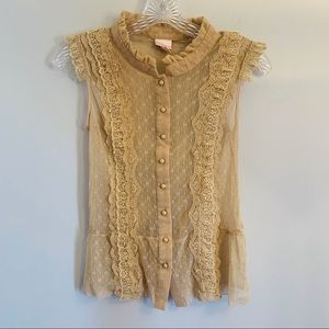 Victorian-Style Lace Top
